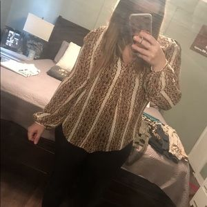 Michael Kors blouse large